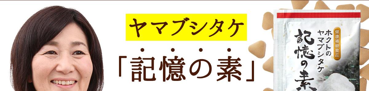 ヤマブシタケ「記憶の素」